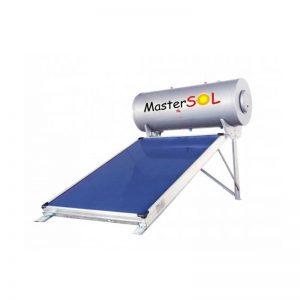 Ηλιακός Θερμοσίφωνας 100lt Mastersol LP Επιλεκτικός 1,5τμ (χαμηλού ύψους)
