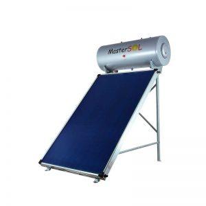 Ηλιακός Θερμοσίφωνας 160lt Mastersol ECO Επιλεκτικός 2,5τμ