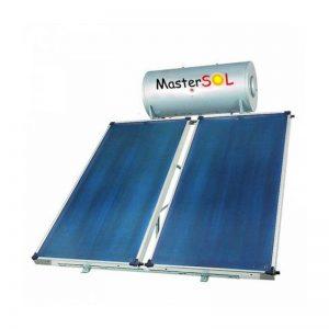 Ηλιακός-Θερμοσίφωνας-160lt-Mastersol-ECO-Επιλεκτικός-4,0τμ