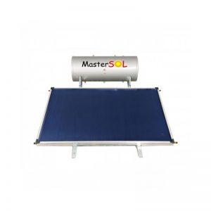Ηλιακός Θερμοσίφωνας 160lt Mastersol ECO Οριζόντιος Επιλεκτικός 2,5τμ