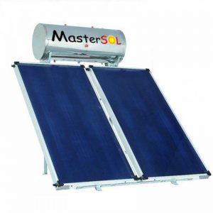 Ηλιακός Θερμοσίφωνας 160lt Mastersol Glass/inox Επιλεκτικός 3,0τμ