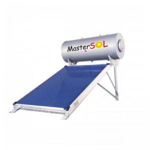 Ηλιακός Θερμοσίφωνας 160lt Mastersol LP Επιλεκτικός 2,0τμ (χαμηλού ύψους) - Ως 6 άτοκες δόσεις 2