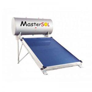 Ηλιακός Θερμοσίφωνας 160lt Mastersol LP Επιλεκτικός 2,5τμ (χαμηλού ύψους)