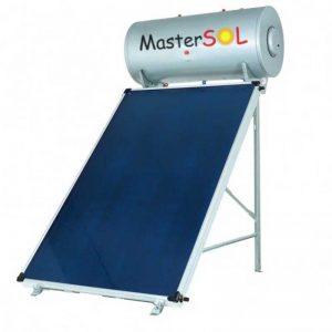 Ηλιακός Θερμοσίφωνας 200lt Mastersol ECO Επιλεκτικός 2,5τμ