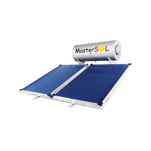 Ηλιακός Θερμοσίφωνας 200lt Mastersol LP Επιλεκτικός 3,0τμ (χαμηλού ύψους)