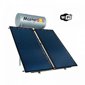 Ηλιακός Θερμοσίφωνας 200lt Mastersol Plus (WiFi) Επιλεκτικός 3,0τμ