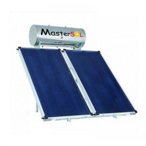 Ηλιακός Θερμοσίφωνας 300lt Glassinox Επιλεκτικός 5.5τμ