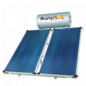 Ηλιακός Θερμοσίφωνας 300lt Mastersol ECO Επιλεκτικός 4,0τ.μ.