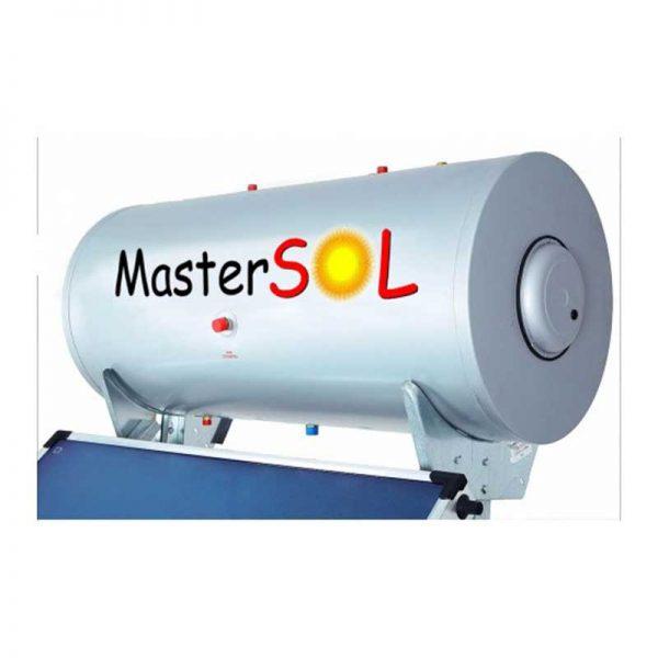 Ηλιακός Θερμοσίφωνας 300lt Mastersol Glassinox Επιλεκτικός 5.5τμ 5