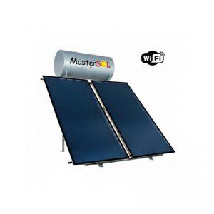 Ηλιακός Θερμοσίφωνας 300lt Mastersol Plus (WiFi) Επιλεκτικός 4,0τμ