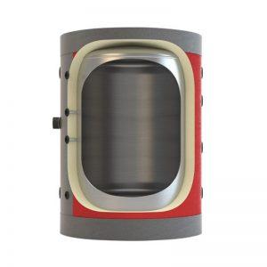 Boiler λεβητοστασίου MasterSol BLV0 9000 λίτρα (χωρίς εναλλάκτη)