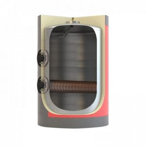 Boiler λεβητοστασίου MasterSol BLV1 9000 λίτρα διπλής ενέργειας (με 1 αποσπώμενο εναλλάκτη)