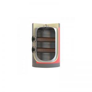 Boiler λεβητοστασίου MasterSol BLV2 1500 λίτρα τριπλής ενέργειας (με 2 αποσπώμενους εναλλάκτες)
