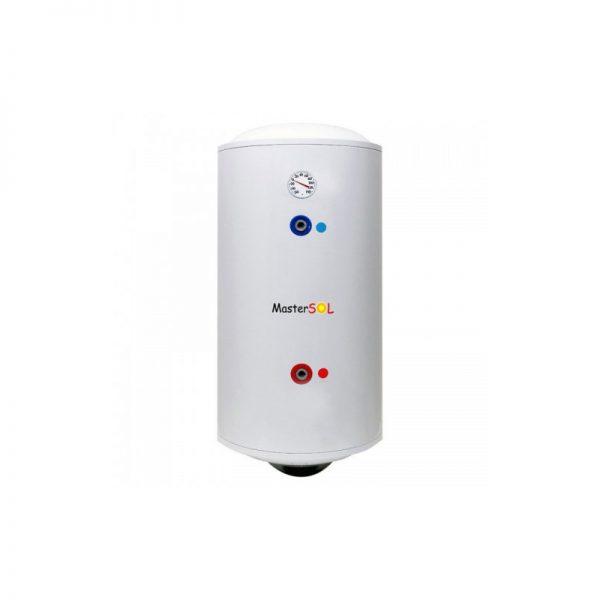 MasterSOL - ηλεκτρομπόιλερ (boiler) 100 λίτρων, διπλής ενέργειας - Glass