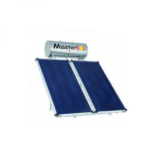 Ηλιακός Θερμοσίφωνας 300lt Mastersol Glassinox Επιλεκτικός 5τμ