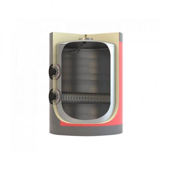 Boiler Λεβητοστασίου Διπλής Ενέργειας (με 1 inox Αποσπώμενο Εναλλάκτη)